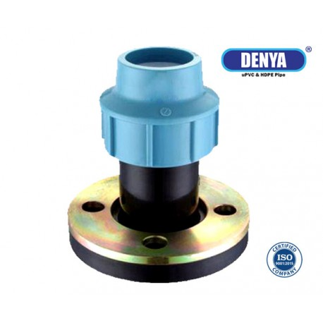 PP Compression Flange Adaptor