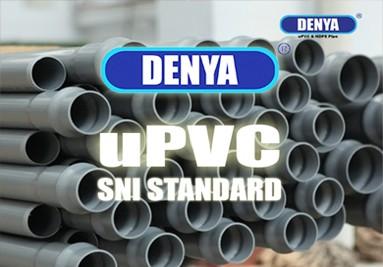 denya SNI pvc pipe